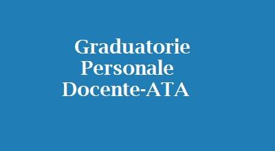 Graduatorie personale Docente-Ata