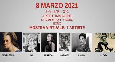 8 Marzo 2021 Mostra in 3 D # Noi la celebriamo così…Classi III Scuola Secondaria Bono