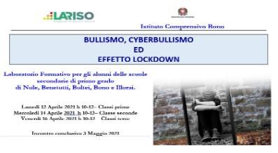 BULLISMO, CYBERBULLISMO  ED  EFFETTO LOCKDOWN