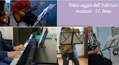Video-saggi Indirizzo Musicale – Scuola Secondaria Bono